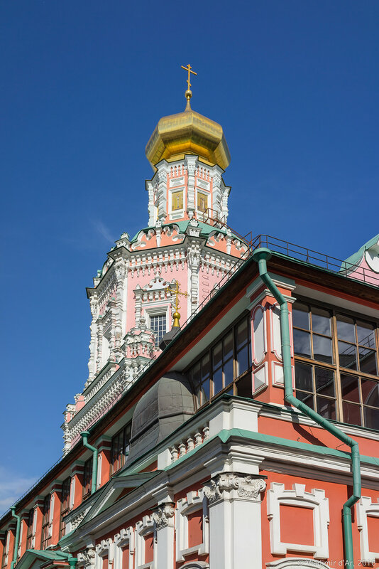Храм Богоявления Господня Богоявленского монастыря в Китай-городе