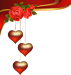 Decorative_Hearts_Pendants_with Roses_Element_PNG_Clipart.png
