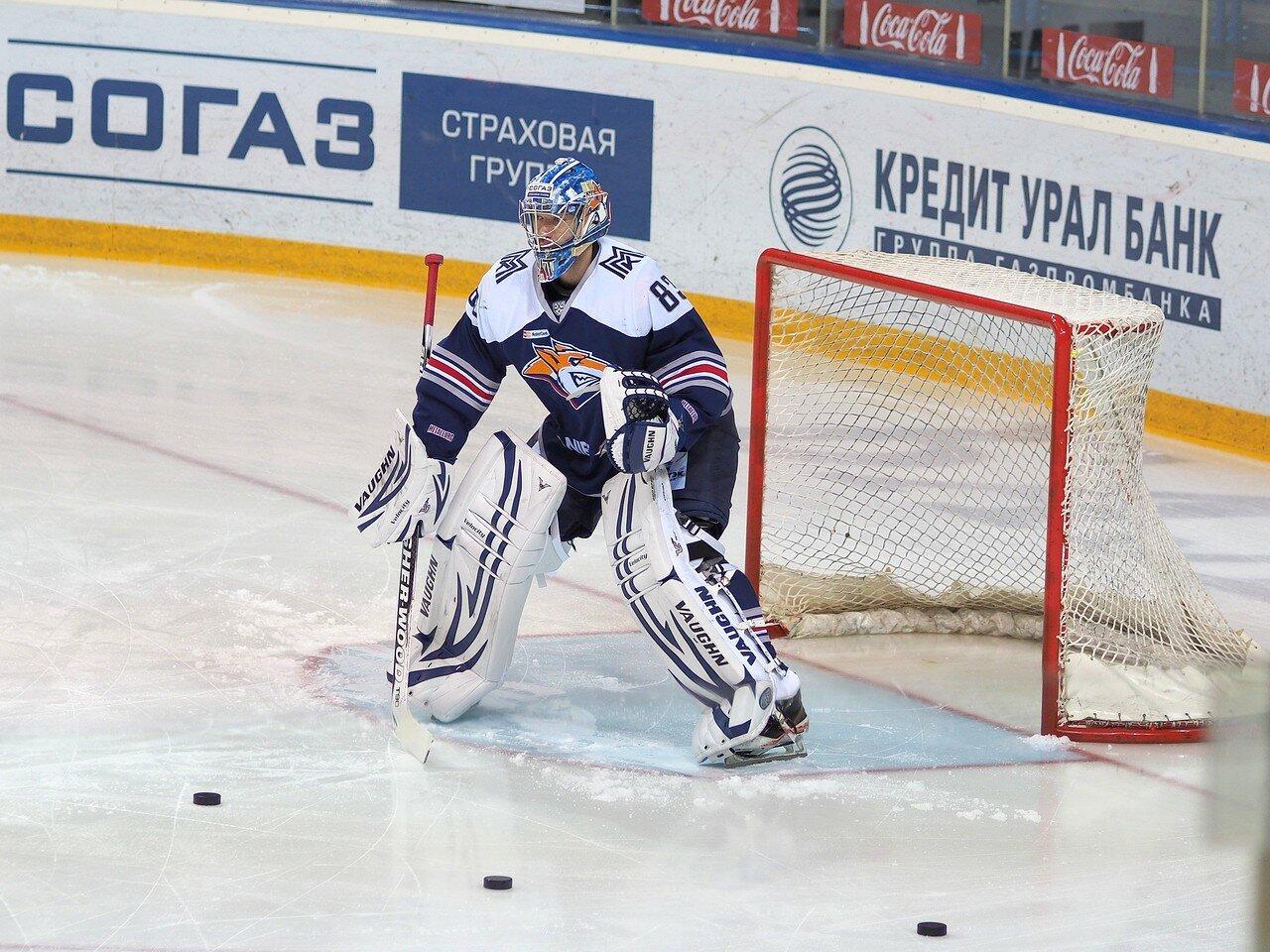 11Восток 1/4 плей-офф Металлург - Автомобилист 01.03.2016