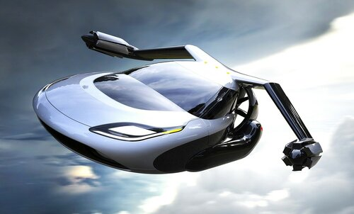 В 2018 году выпустят автомобили, которые летают