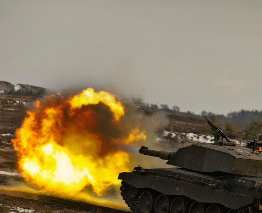 Огневая мощь танков