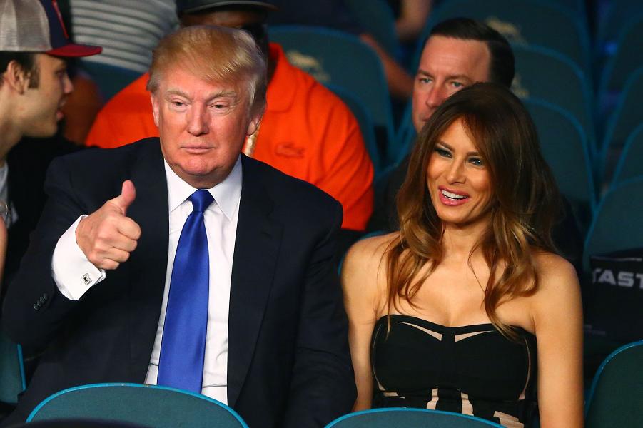 Дональд и Мелания Трамп.png