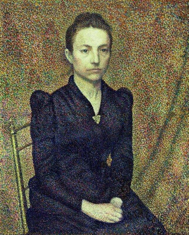 PORTRAIT OF THE ARTIST`S SISTER (1891)  Париж. Музей Орсэ (Франция)