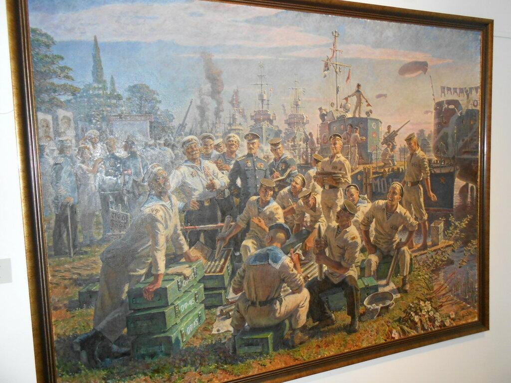 Петербург. В Центральном военно-морском музее.