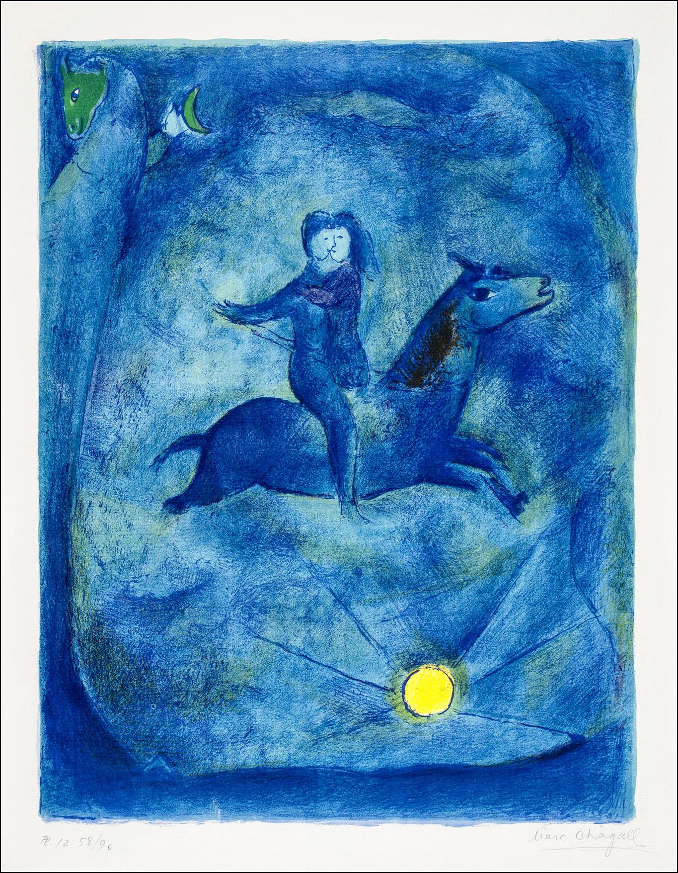 Arabische Nächte, Marc Chagall
