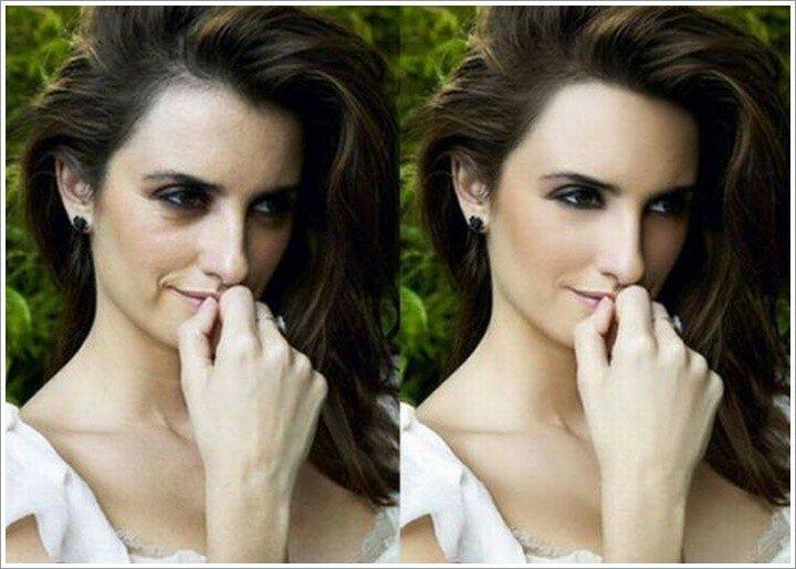 Как знаменитостям делают глянцевый вид в Фотошопе (фото до и после)
