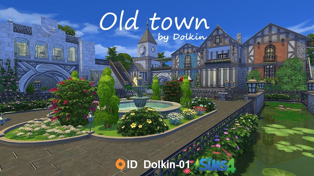 Old town by Dolkin