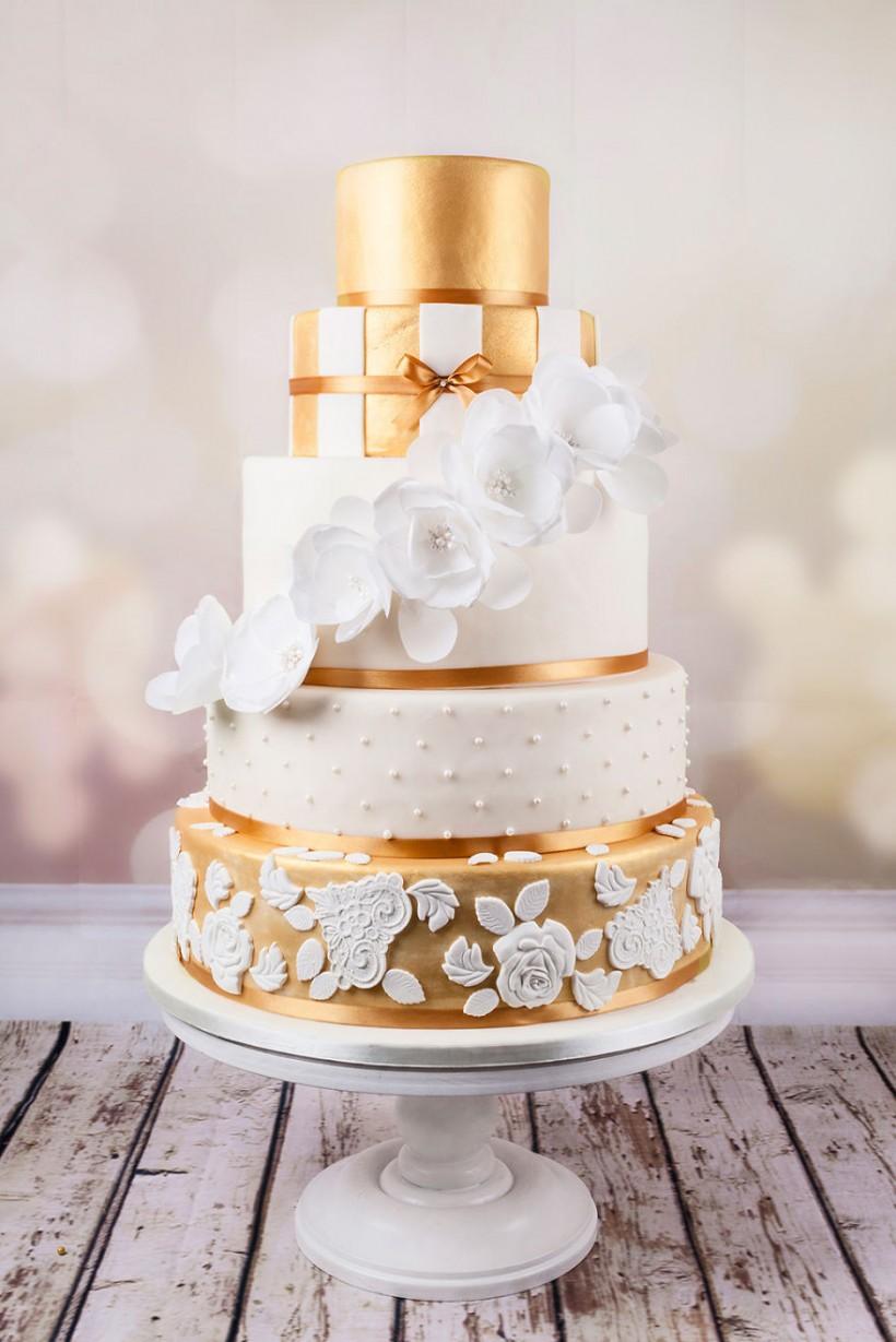 Как сделать дома свадебный торт