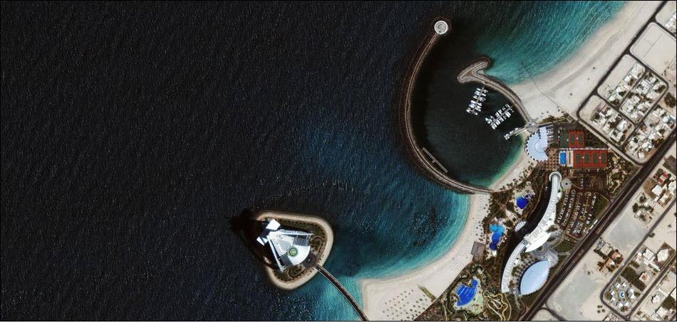 16. Отель Бурж аль Араб, Дубаи, ОАЭ.