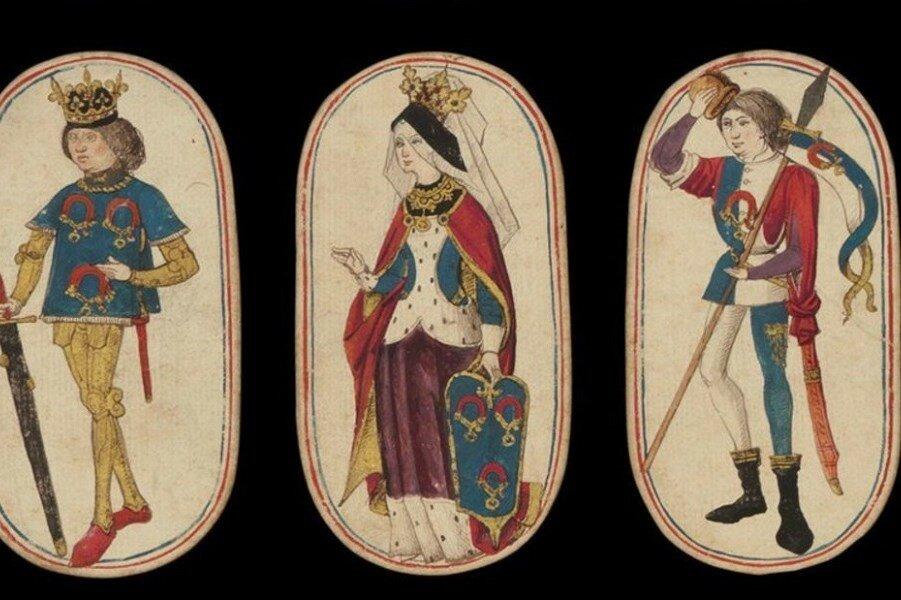 Средневековые игральные карты