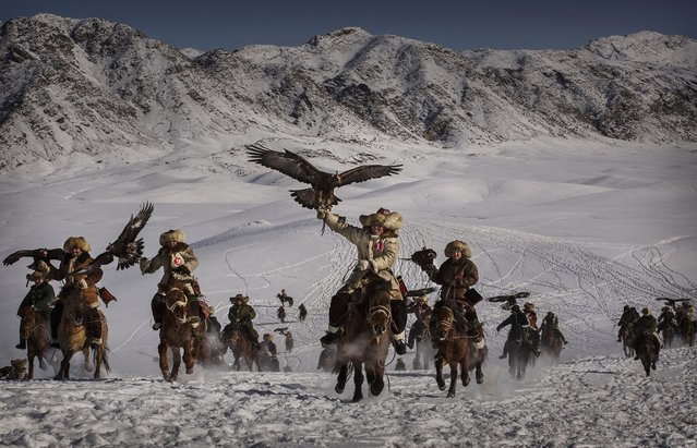 Kevin Frayer, Canada. Shortlist, Professional , Environment. January 30, 2015 in Xinjiang, China. Th