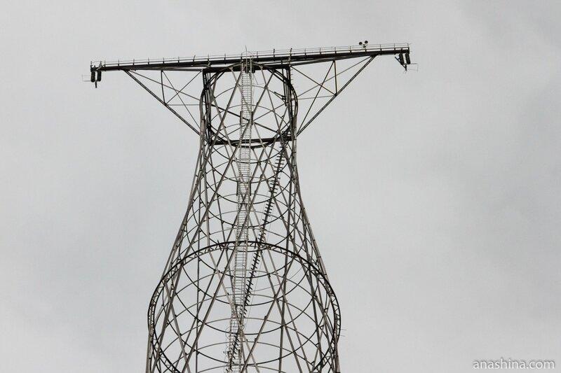 Башня Шухова на Оке
