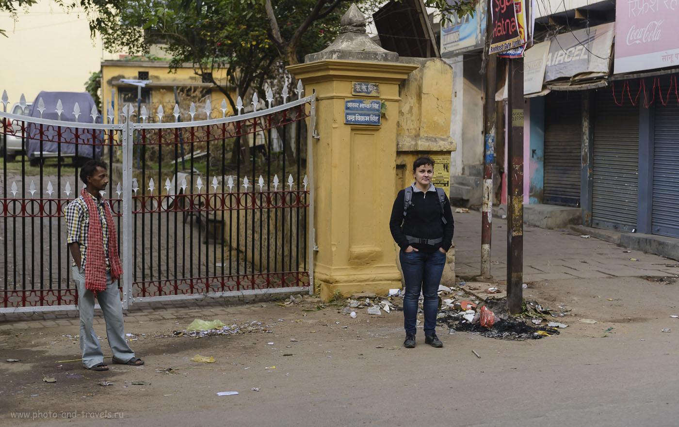 Фотография 2. На улицах Варанаси. Отчет о нашем туре в Индию. 1/1000, -0.33EV, 2.8, 250, 52.