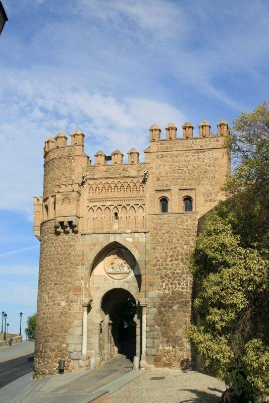 Толедо, ворота Пуэрто дель Соль (Toledo, Puerta del Sol)