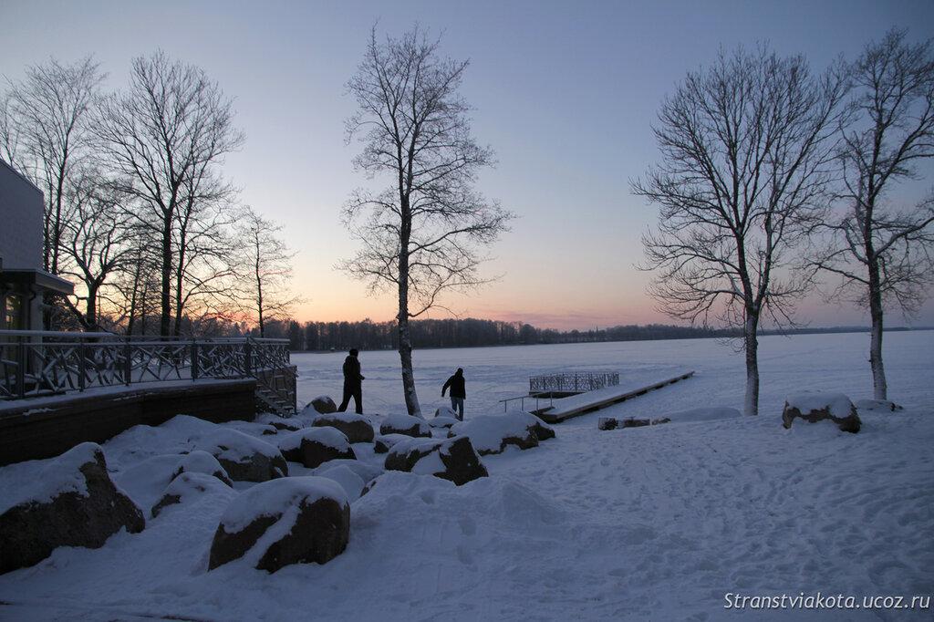 Эстония, центр Ледникового периода в Aksi