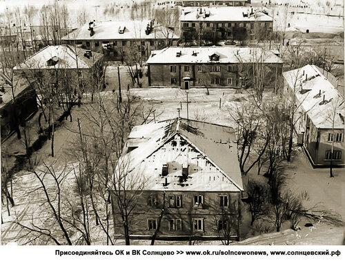 Двухэтажки на ул. Кирова (Солнцевский проспект) 79 #Солнцево