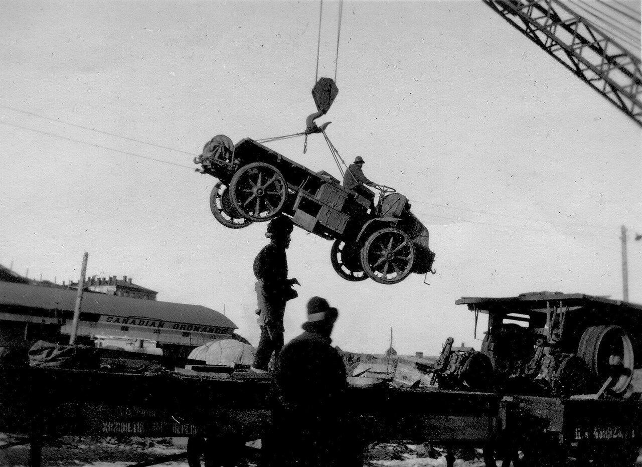 Французские автомобили - армейские тягачи фирмы Латиль (Latil TAR 4x4)