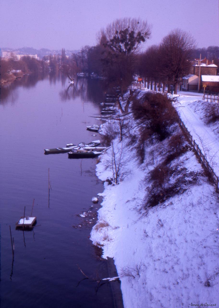 1963. Парижские пригороды