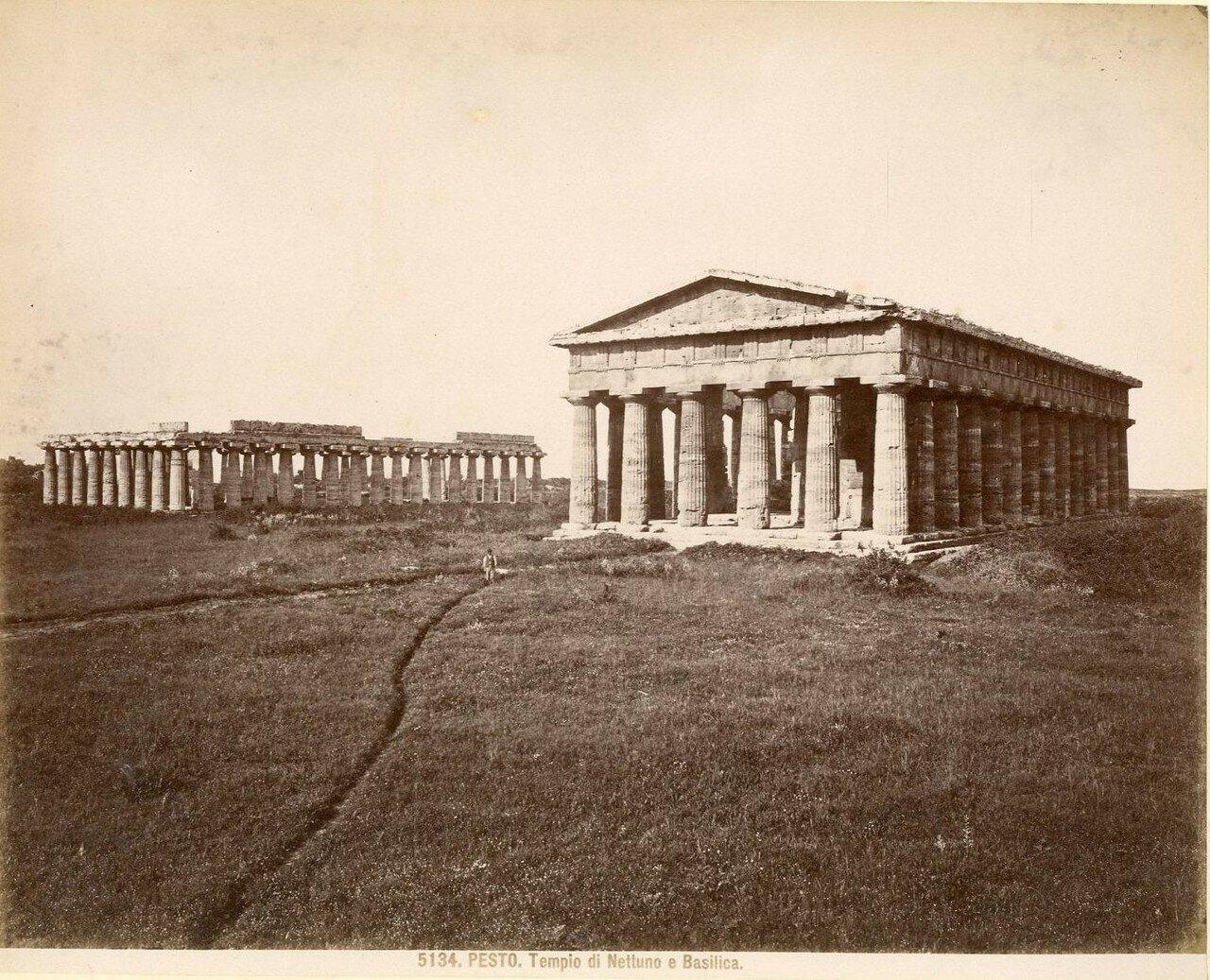 Храм Геры-I («Базилика») и храм Геры-II