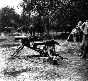 56. 1915. Трофейные пулемёты. Лето