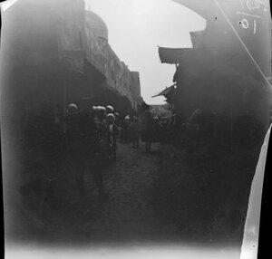 3 ноября. Бухара. Торговая улица со стеной медресе Мири Араб