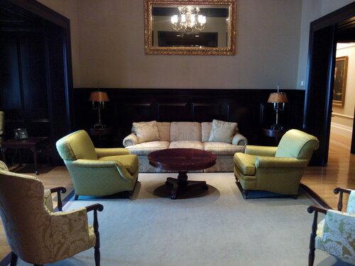 Нью-Йорк. Комната отдыха в главном офисе компании «MetLife»