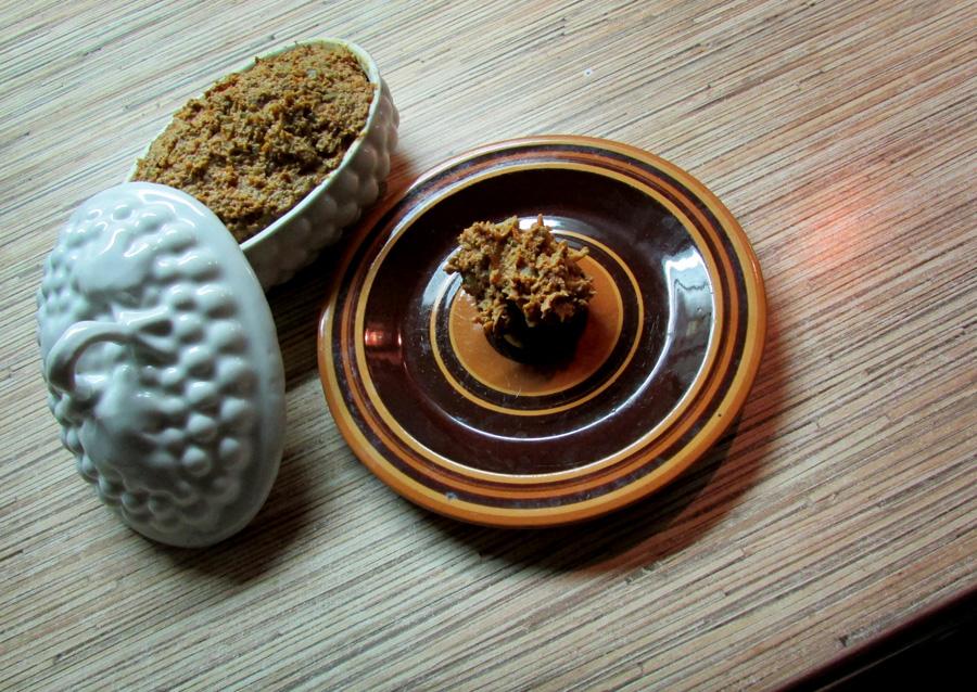 печеночный паштет с тыквой