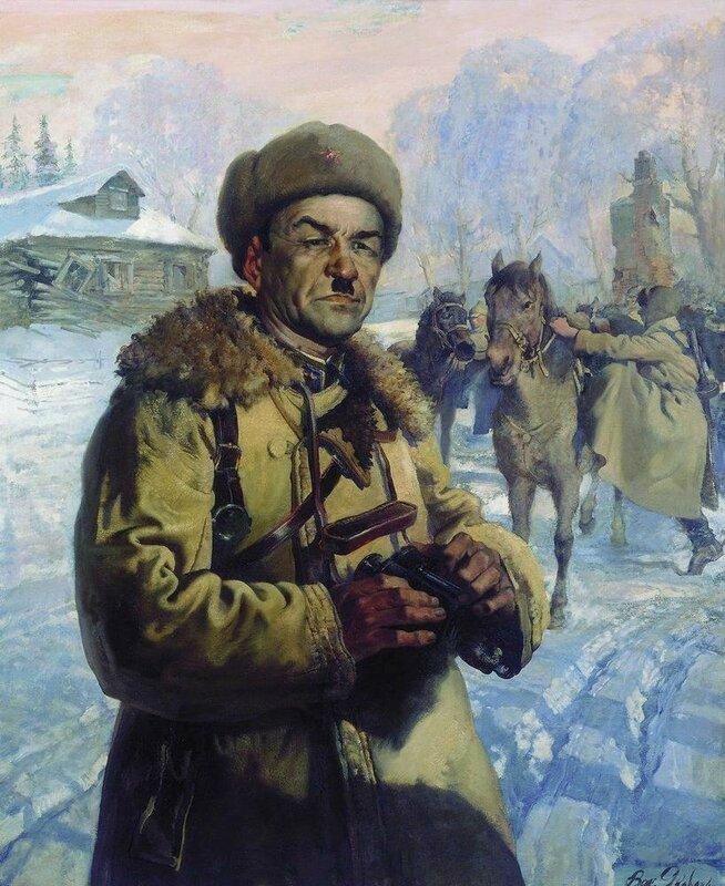 военачальники Красной Армии, полководцы Красной Армии, генерал Панфилов