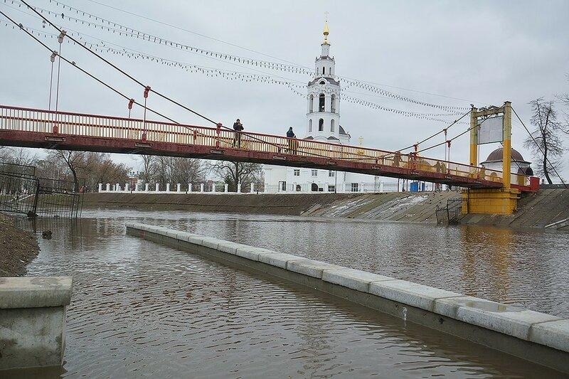 Паводок в Орле