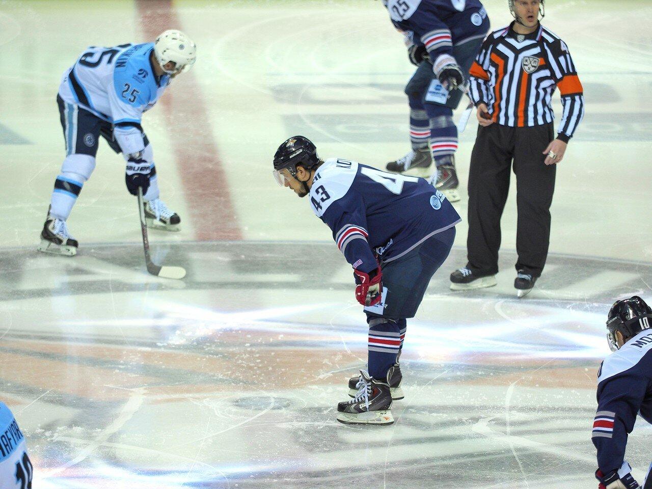 52Плей-офф 2016 Восток 1/2 Металлург - Сибирь 10.03.2016