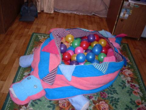 Сухой детский бассейн своими руками