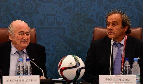 Блаттера и Платини отстранили от футбола сроком на 8 лет