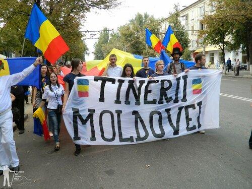 Унионисты провели акцию протеста у посольства России