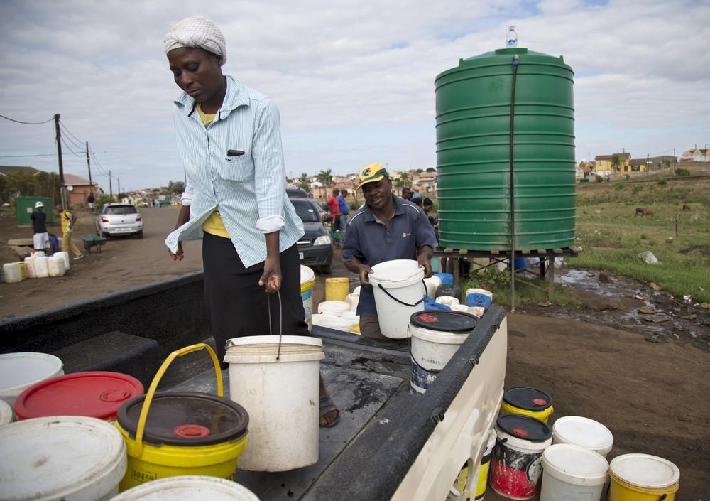 Эль-Ниньо усугубляет засуху в Южной Африке