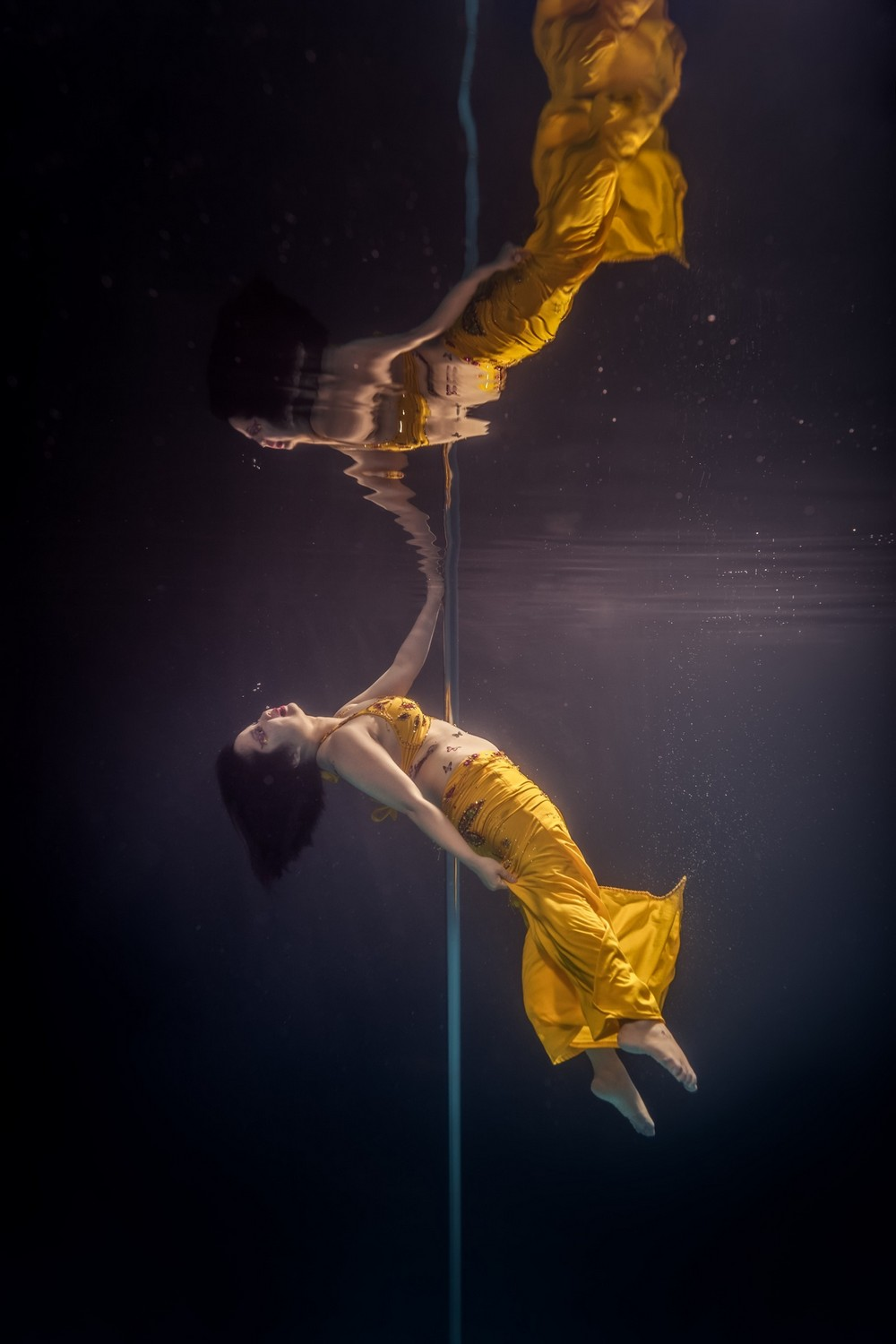 Underwater Pole Dancing