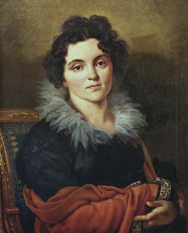 Портрет Дарьи Николаевны Хвостовой. 1814 Х., м. 71x57,8 ГТГ.jpg