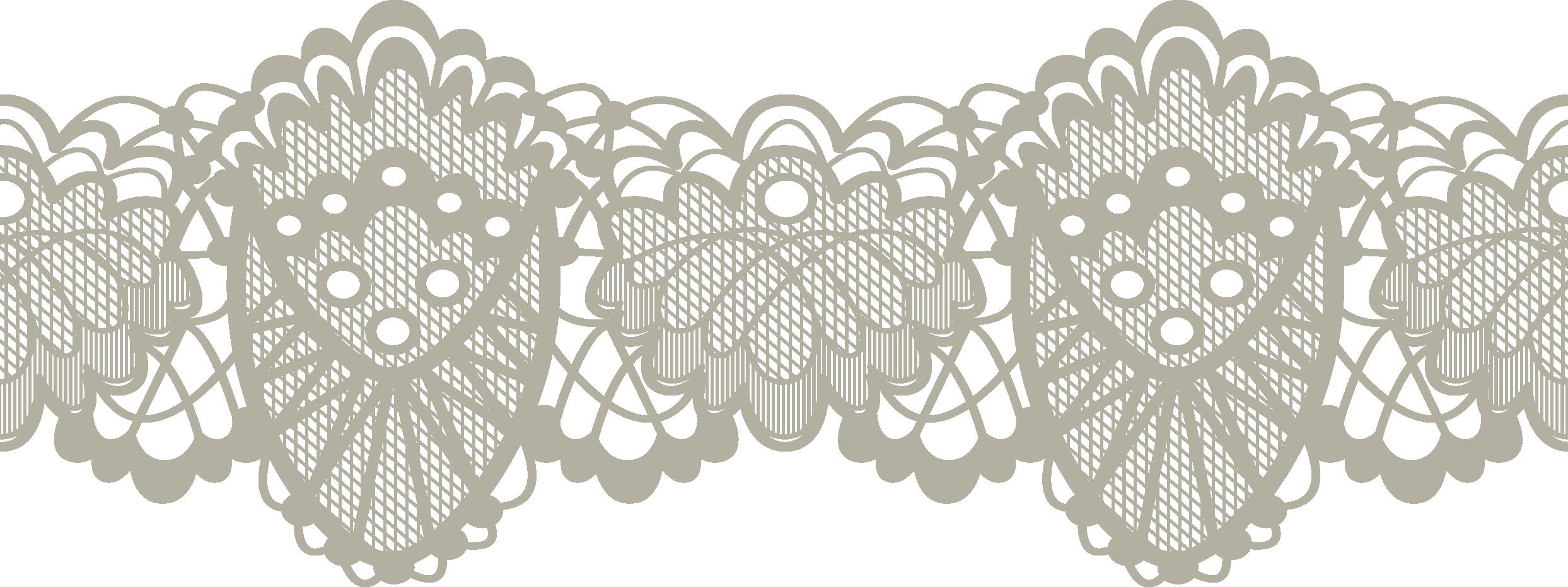 Картинка кружево на прозрачном фоне