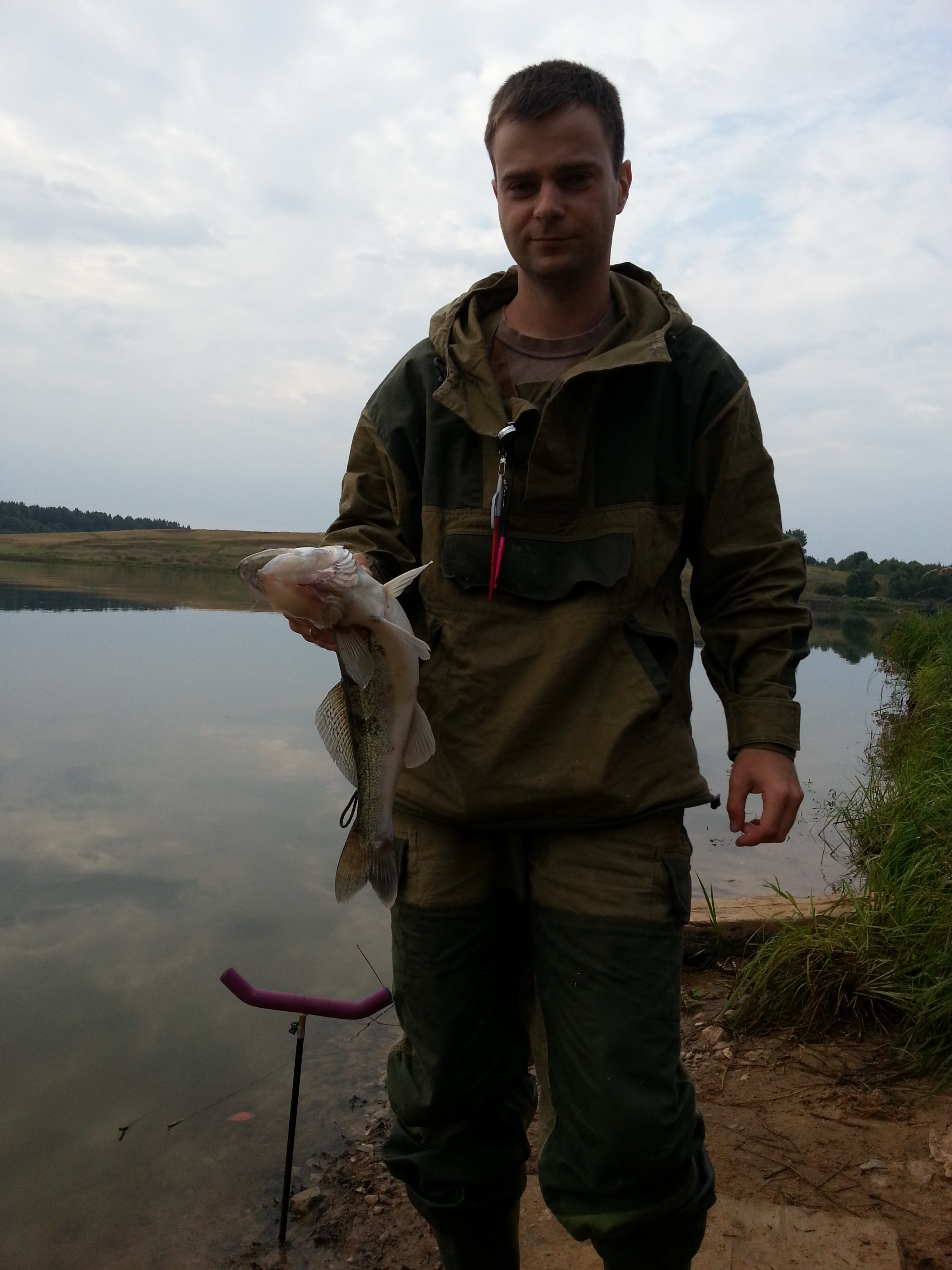 Vazuzskoe reservoir: fishing and recreation at local bases 24