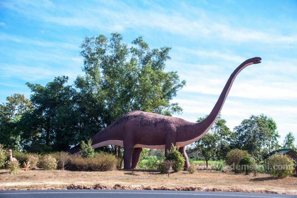 Музей динозавров в Каласине