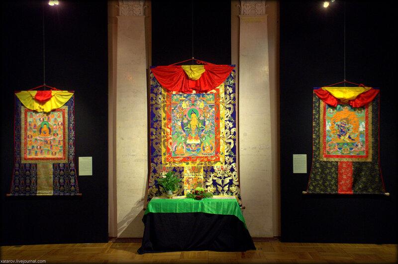 Танка – искусство философии, медитации и йоги. Буддийская живопись Николая Дудко. Музей народов Востока в Москве. Январь 2016 года