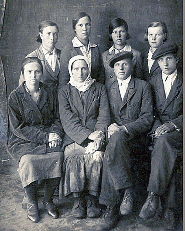 Семейный фотопортрет.
