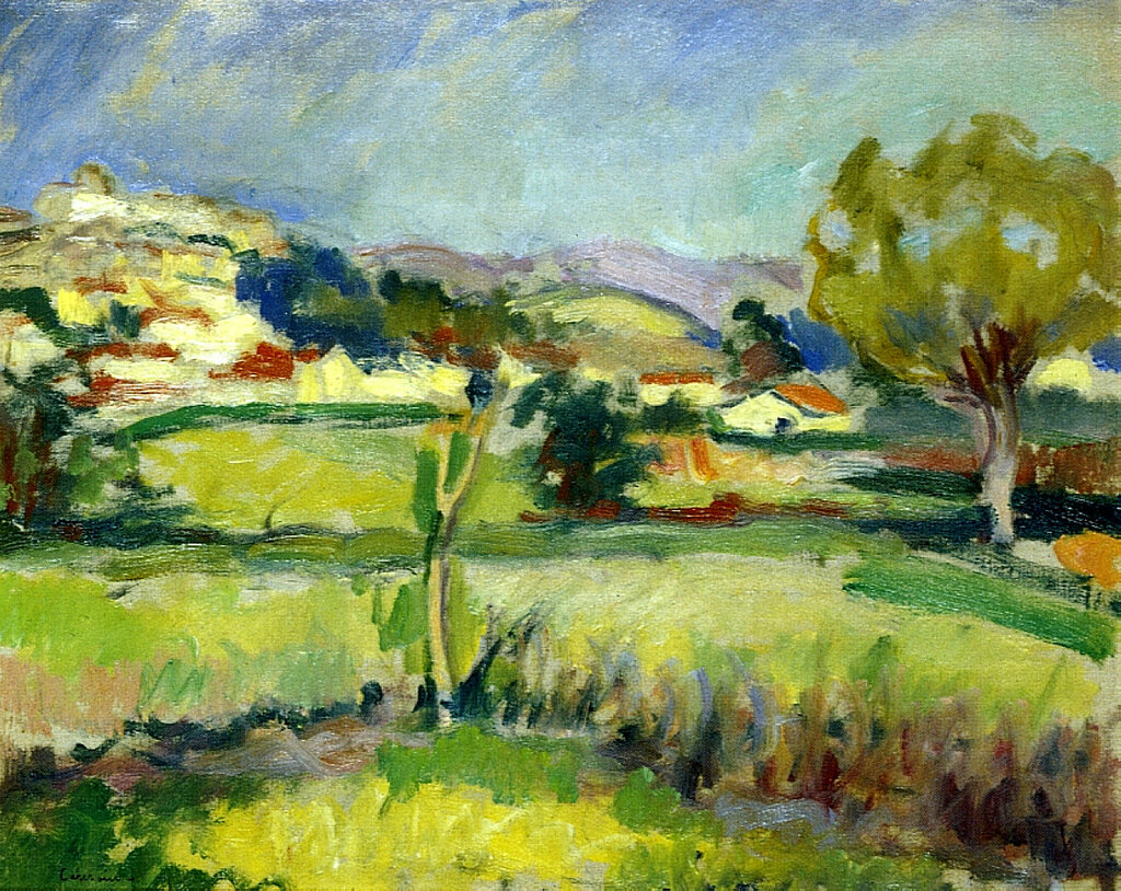 Charles Camoin - Provencal Landscape, 1908.jpeg