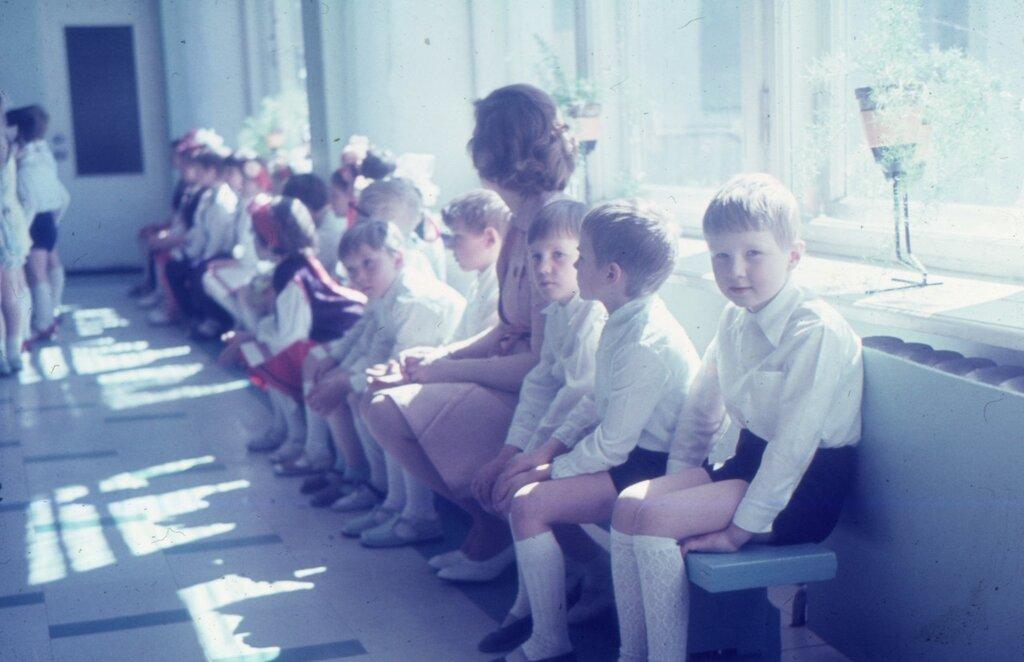 Свердловск, май 1980 г., праздник в детском саду №532