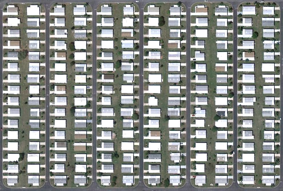 7. Густо населенный район в Бонита Спрингс. (© Google)