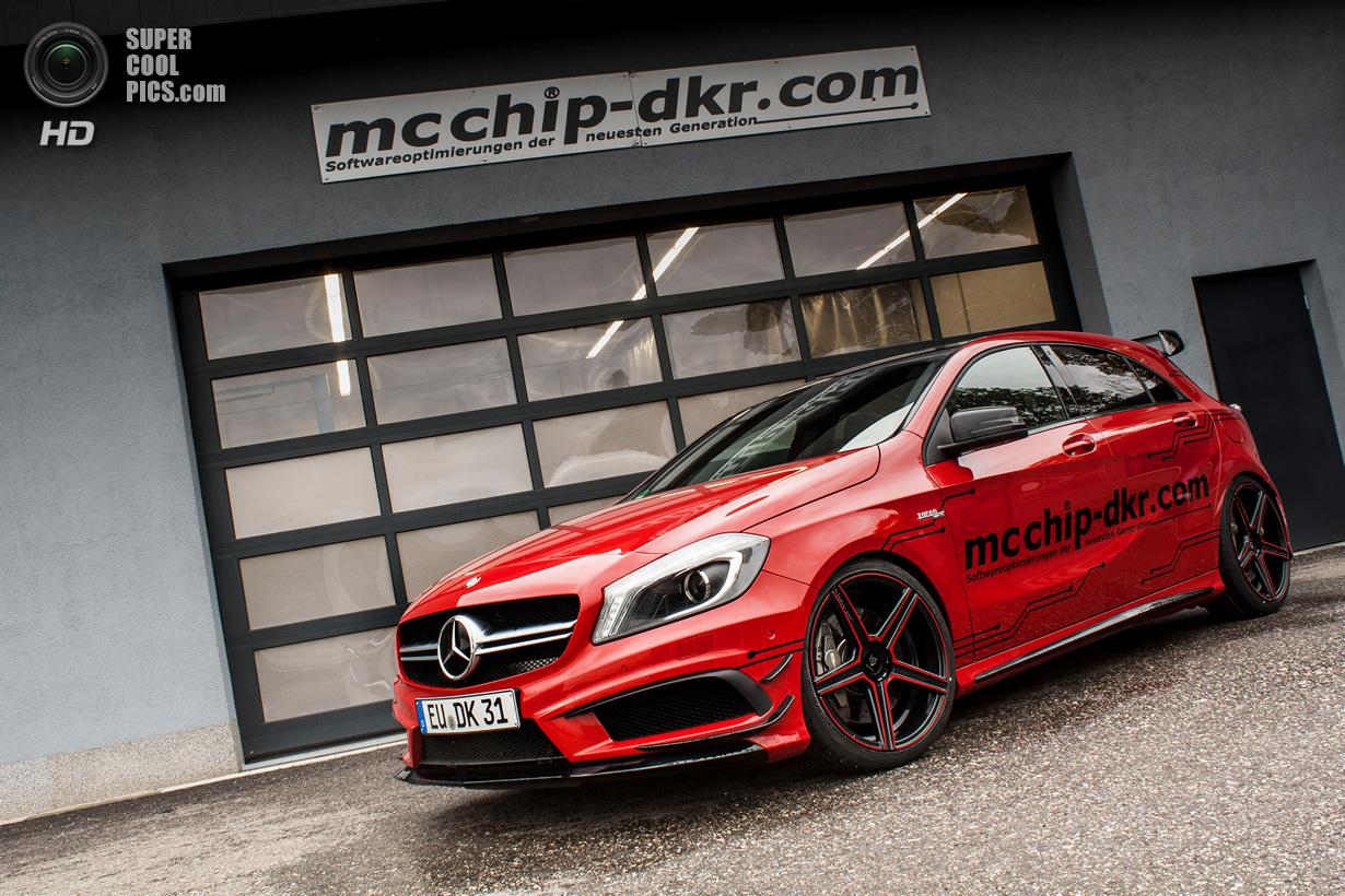 Mercedes-Benz A 45 AMG получил «прокачку» от Mcchip-DKR (10 фото)