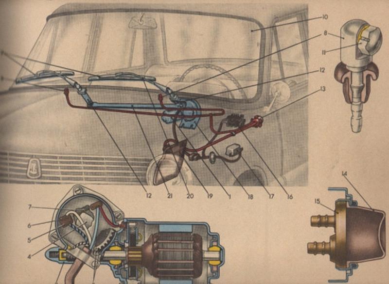 9. Стеклоочистители. Первые дворники для автомобиля изобрела Мэри Андерсон в 1903 году. Ей стало жал