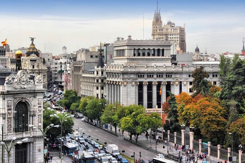Улицы и архитектура Мадрида фото 4