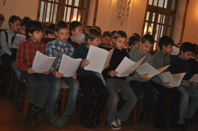 Детский хор изПензы выступит вКремлевском замке