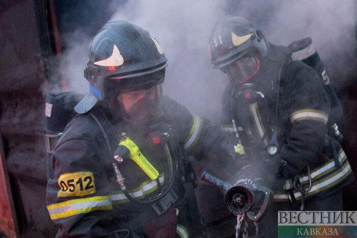 Пожарные спасли 9 человек напожаре насеверо-востоке столицы