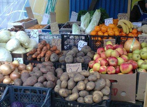 цены на овощи и фрукты в Донецке